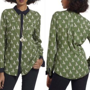 Maeve | Bicycle Pattern Top, 2